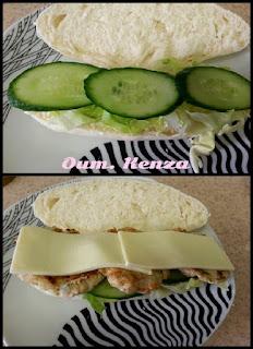 بانيني بالدجاج والجبن