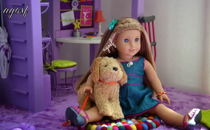 Terrific Cute American Girl Doll Hairstyles Featuring Mckenna Unbox Planet Hairstyle Inspiration Daily Dogsangcom