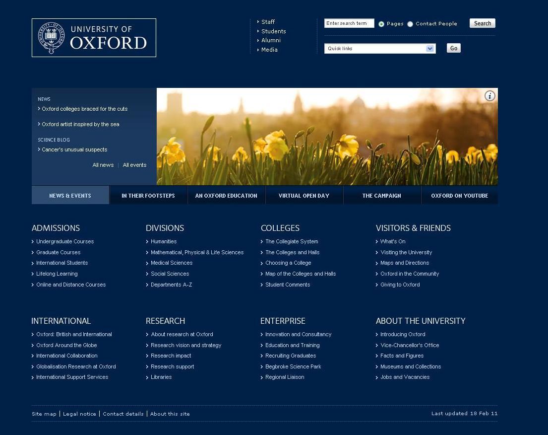 dating websites oxford