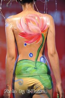 Women Art Body Painting Models