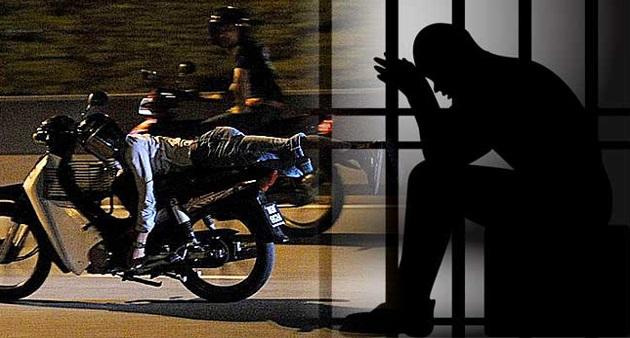 TU DIAA!! Dipenjara, denda RM5,000 sebab tunggang macam Superman