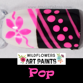 Wildflowers Nail Art Paint Pop