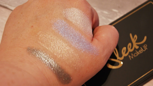 Sleek MakeUP Midas Touch Highlighting Palette Swatches