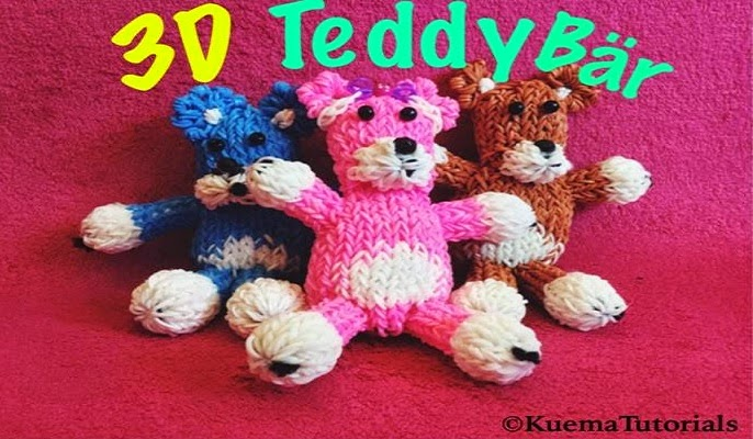 http://www.beauty-kuema.de/2015/01/rainbow-loom-teddy-bear-3d.html