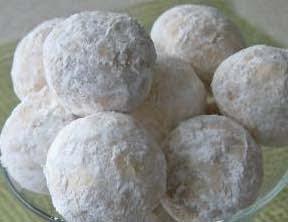 Resep kue, snowball manis, cara membuat snowwball, enak, gurih