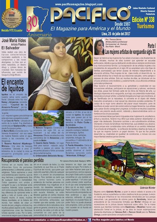 Revista Pacífico Nº 338 Turismo