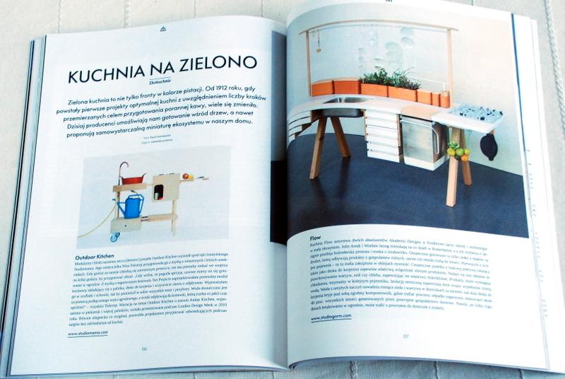 Wnętrze magazynu, przykłady ekologicznych kuchni