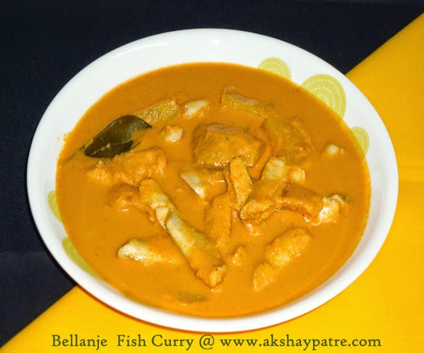fish curry in a serving bowl