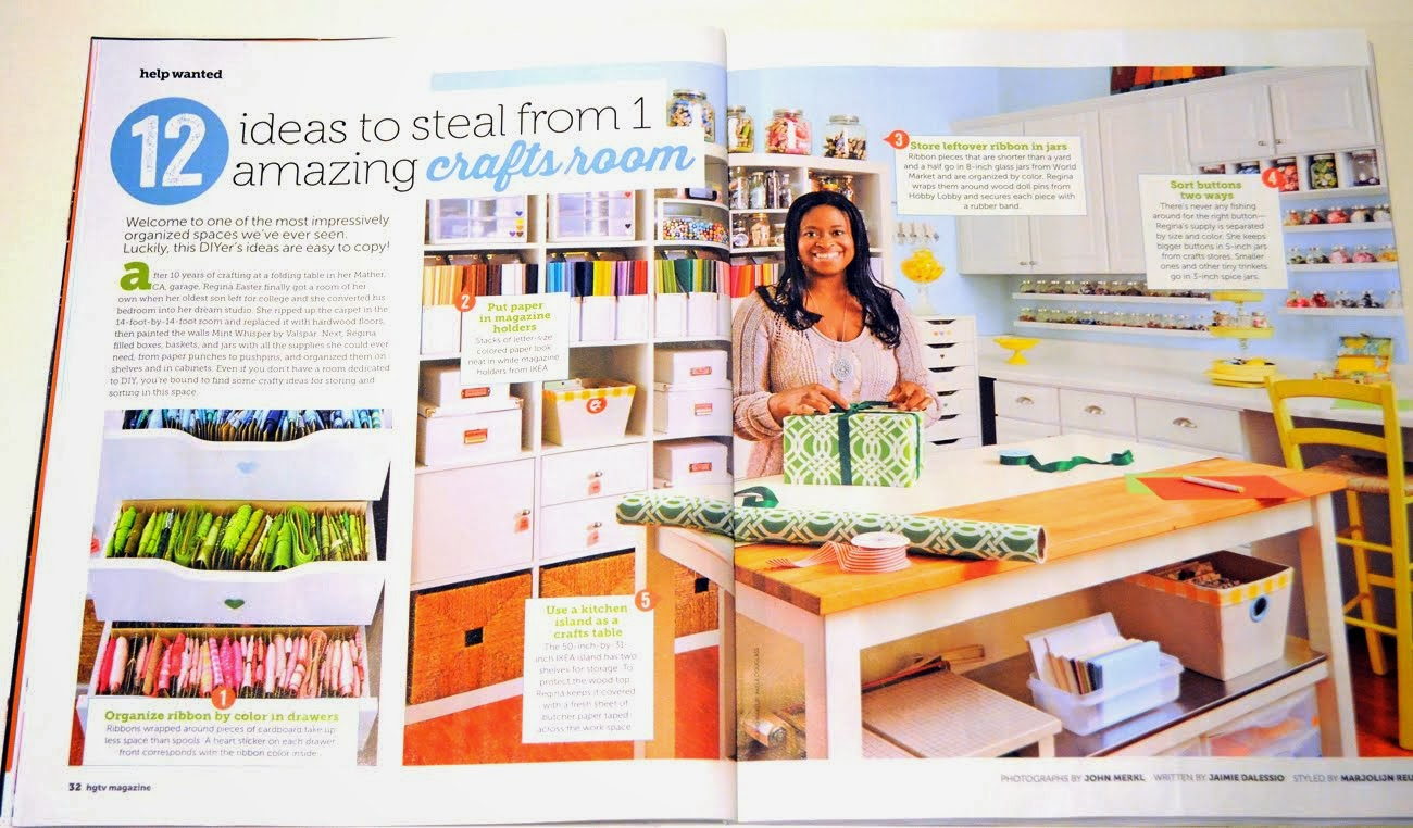 Check Out Regina's Fabulous Craft Room!!!