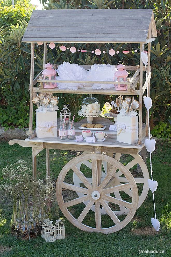 Fiestas on pinterest mesas candy cart and dessert tables for Como hacer un kiosco de madera