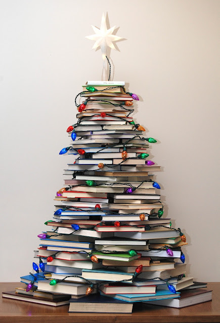 How To Make A Book Tree : Very merry vintage syle how to make a christmas tree with