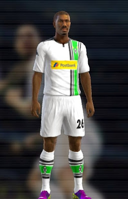 PES 2013 – Monchengladbach 2016 Home Kit by Auvergne81