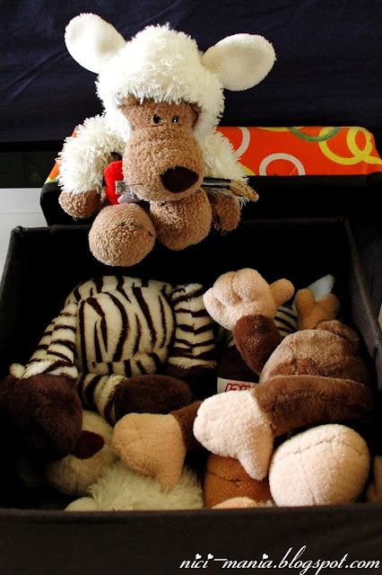 NICI toys squeezed in box