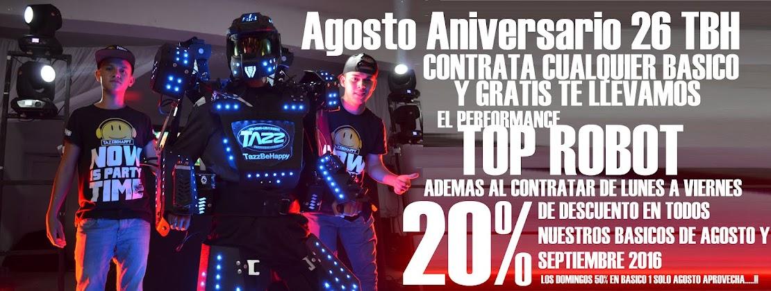 TazzBeHappy CUMPLE 26 AÑOS EN AGOSTO Y LO FESTEJAMOS CON UN 20% DE DESCUENTO