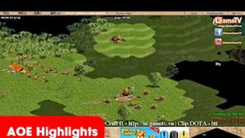 Aoe Highlights - Chipboy cầm Mace đột biến cân bản đồ ( BLV Tuấn Tiền Tỉ)