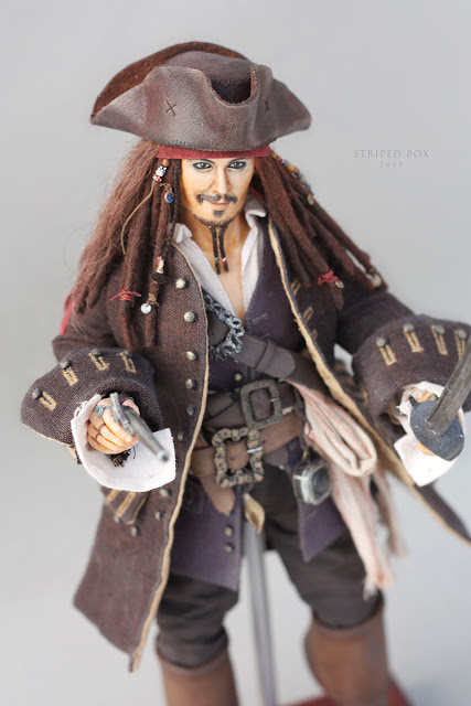 1/6 scale doll Captain Jack Sparrow