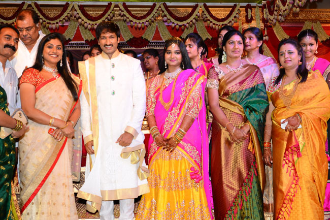 gopichand reshma marriage photos3