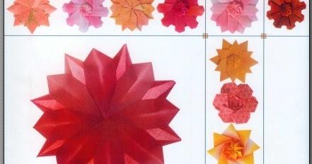 Origami modular flower image collections flower decoration ideas tomoko fuse flower wiring diagram origami japo burajirujin livros de origami para downoad baixar em kusudama mightylinksfo