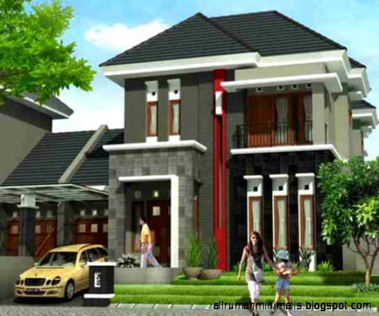 Desain Rumah Minimalis 2 Lantai Modern 2015