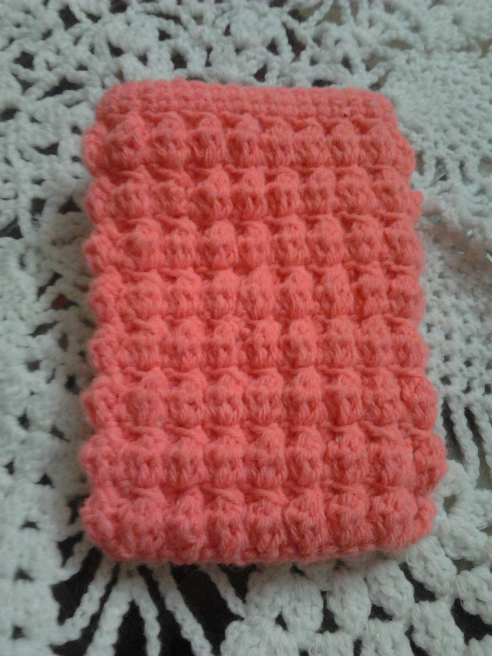 My Craft Works Puff Stitch Cell Phone Cover