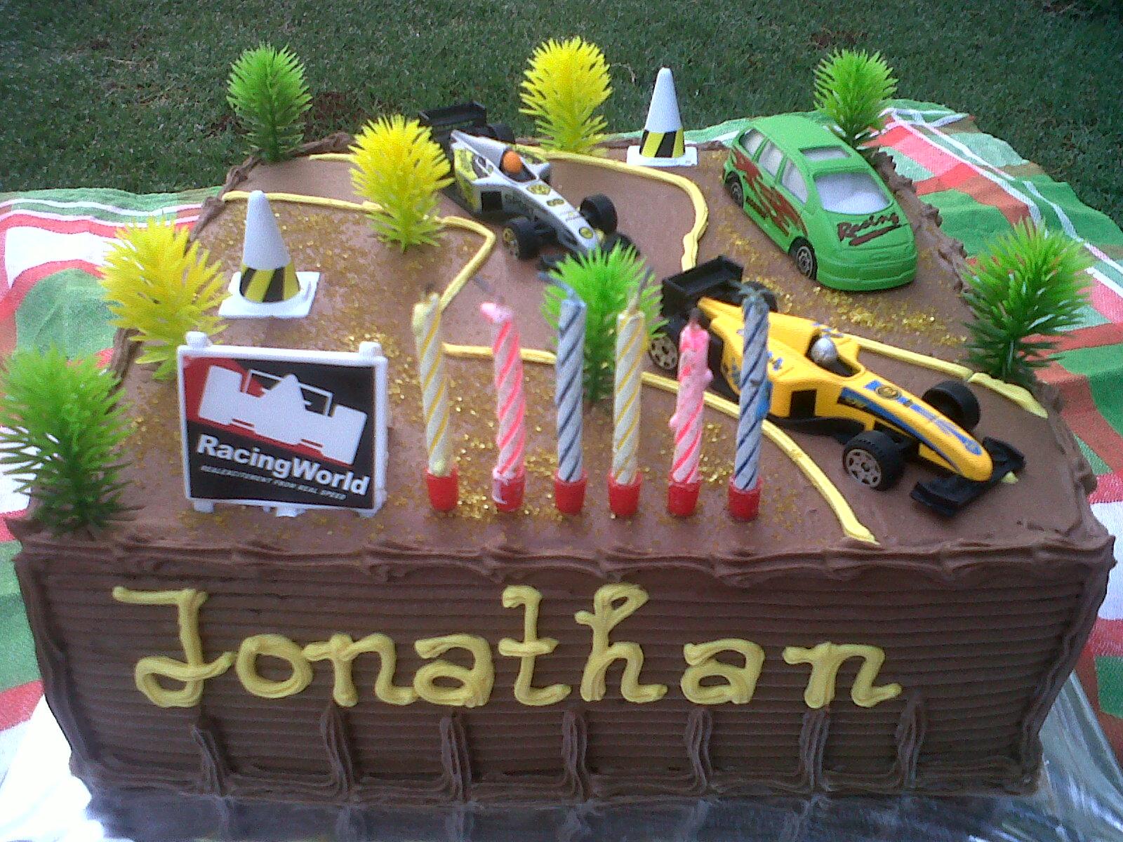Joris Kitchen Jonathans 6th Birthday Cake