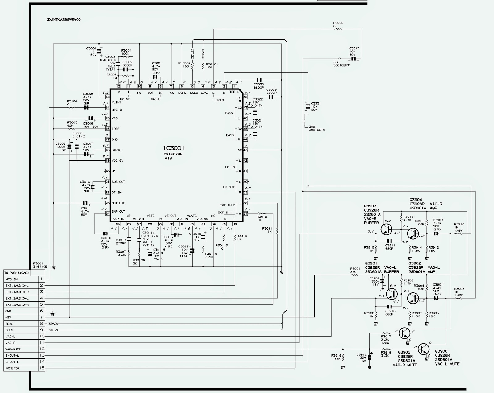 3.bmp sharp 21v fl200 crt tv service mode circuit diagram Flat Screen TV Drawing at gsmportal.co