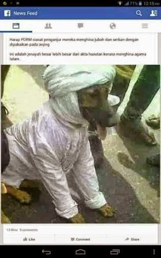 Anjing Pakai Jubah, Ini Dah Terlalu Melampau!