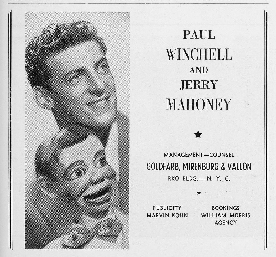 Paul Winchell Paul Winchell entertained