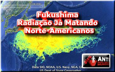 Fukushima: Radiação do Japão Já Está Matando os Norte-Americanos