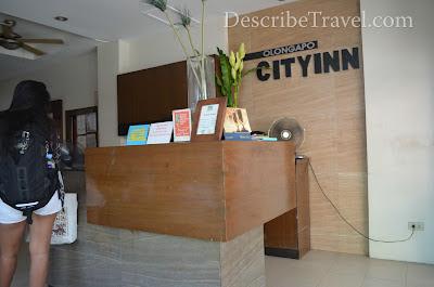 reception of olongapo city inn