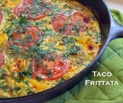 Getting Stuffed: Leftovers Taco Frittata