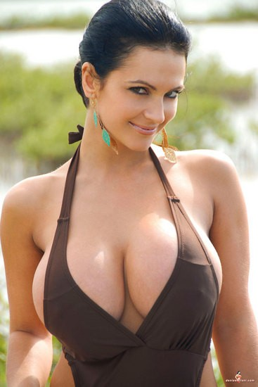 Girls with very large breasts