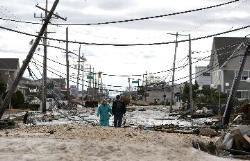 """NUEVA YORK: El frío agrava situación de damnificados por """"Sandy"""" , 17 de Noviembre 2012"""