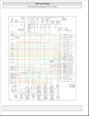 0004 1999 ford ranger system wiring diagrams 4 images wiring 1999 ford ranger ignition wiring diagram at beritabola.co