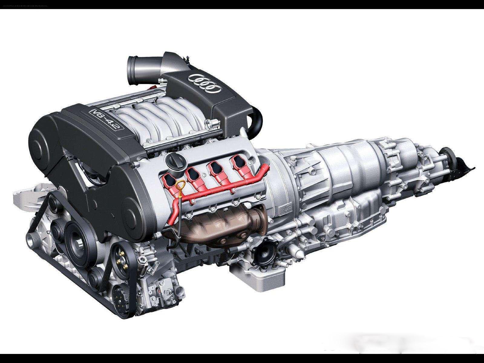 Audi a8 l 6 0 w12 quattro 2004 picture 3 of 5 rear angle image - 2004 Audi A8 4 2 Quattro V8 Engine