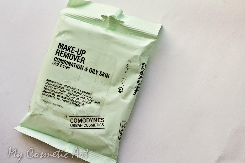 Toallitas desmaquillantes para pieles grasas de Comodynes