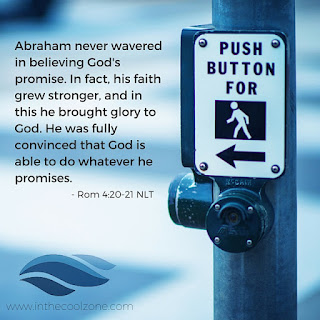 Abraham was fully convinced that God is able to do whatever he promises.