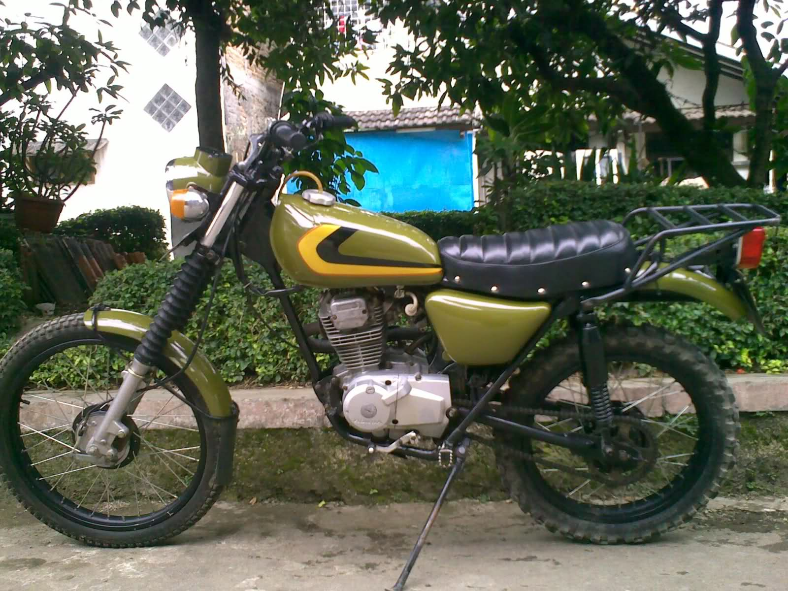 1983 Honda GL Max Modif Honda XL Trail - For Sale