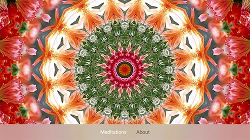 Mandala Meditations Apple TV App