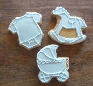Lembrancinha de Maternidade biscoitos