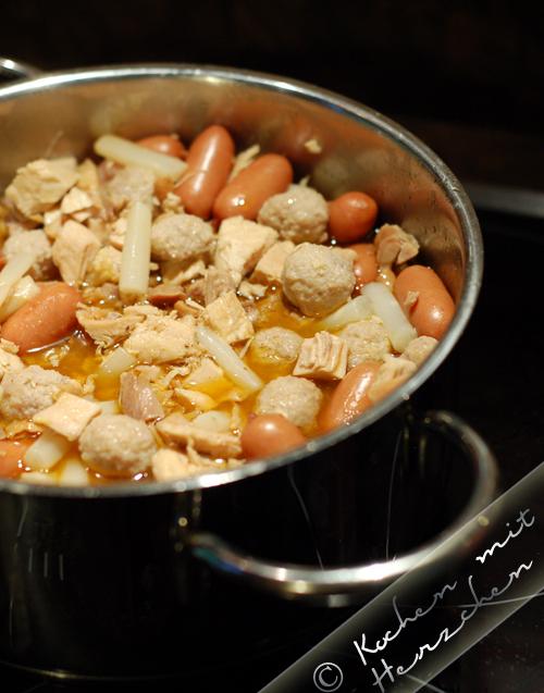 Familienrezept Hühnerfrikassee