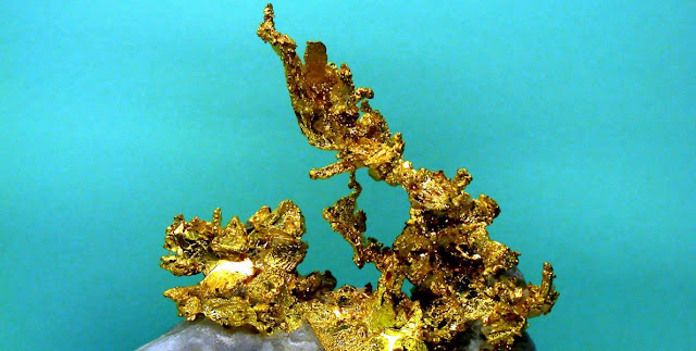 Minerales, oro y geologia