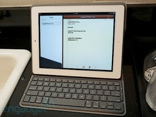 Logitech Launches Solar Powered Keyboard iPad