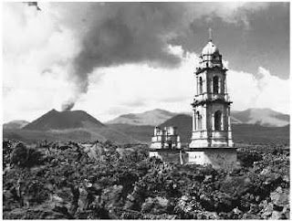 volcan+paracutin+iglesia+lava