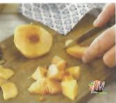 cortar nectarinas