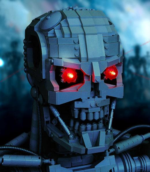 LEGO Terminator T-800 por thire