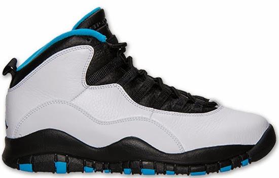 04/19/2014 Air Jordan 10 Retro \u0026quot;Powder Blue\u0026quot; 310805-106 White/Dark Powder Blue-Black $170.00
