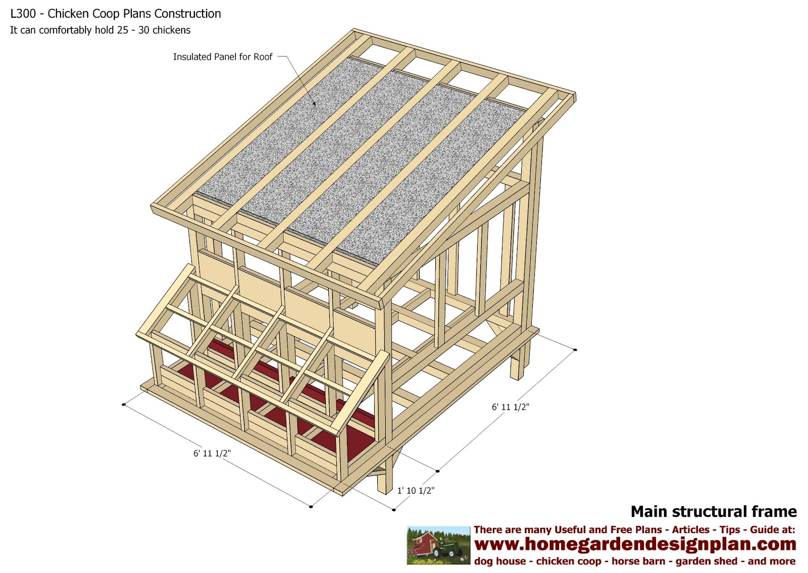 Jbodong information building a chicken coop plans pdf for Free coop plans