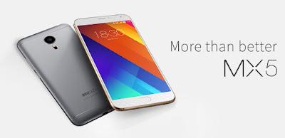 Meizu MX5 ஸ்மார்ட் சாதனம்