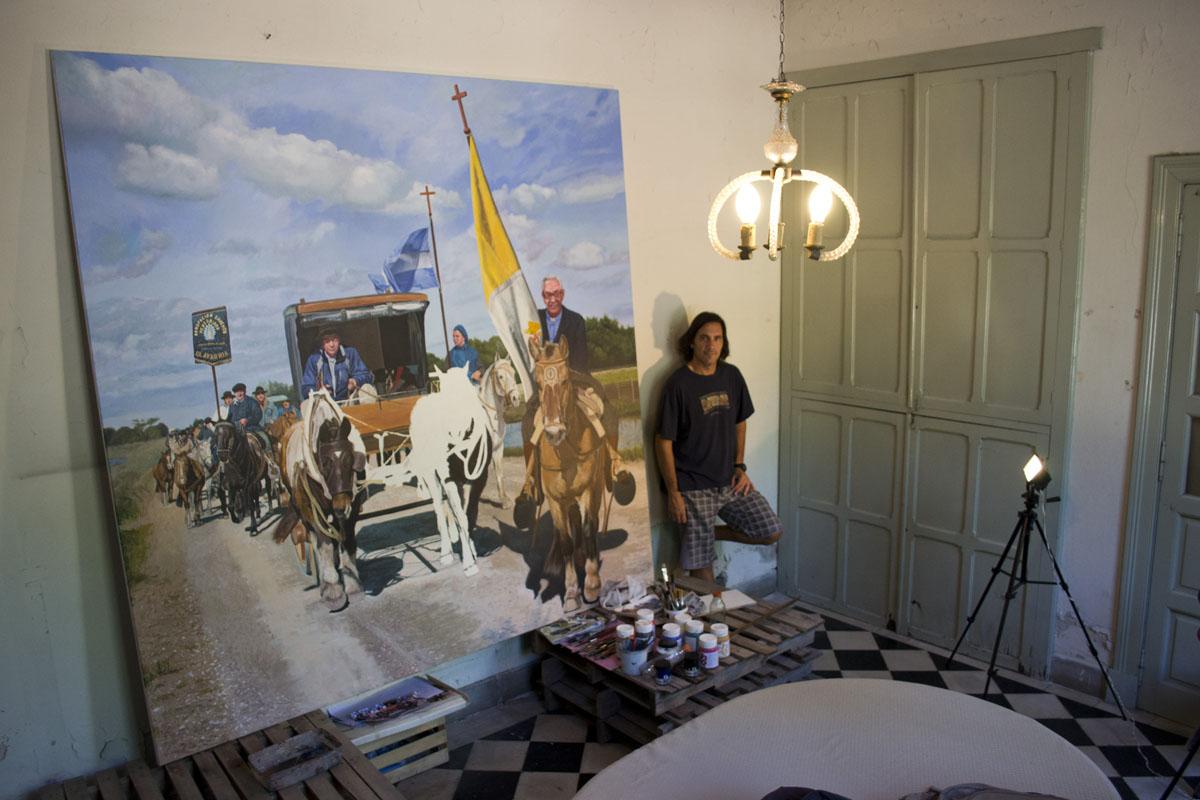 Arte al sud cuadro de gran formato en la iglesia san - Cuadros gran formato ...